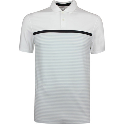 Nike Golf Shirt TW Vapor Stripe White SS19