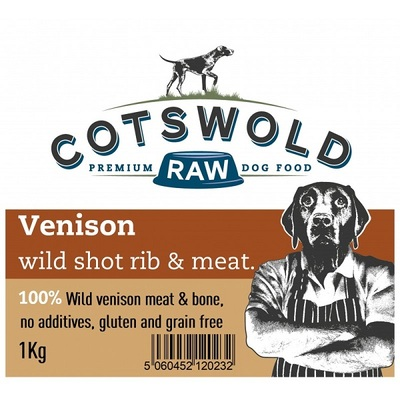 Cotswold Venison Short Rib & Meat Dog Treat
