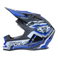 Image of Wulfsport Kids Vantage Crash Helmet Blue