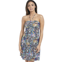 Freya Hot in Havana Multi Bandeau Halter Dress