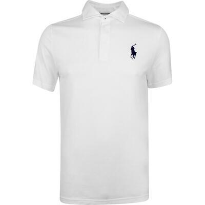 Justin Thomas POLO Golf Shirt Tour Pique White SS19