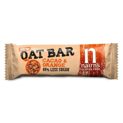 Nairn's Gluten Free Cacao & Orange Oat Bars - Pack of 20