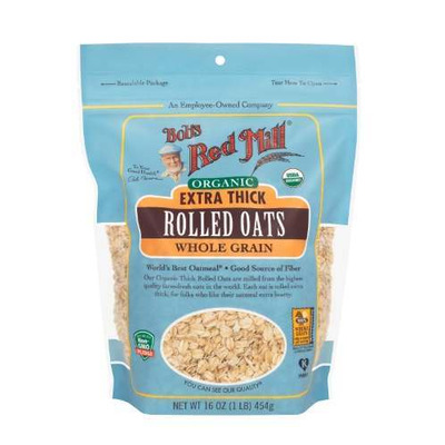 Bobs Red Mill Organic Thick Rolled Oats 454g