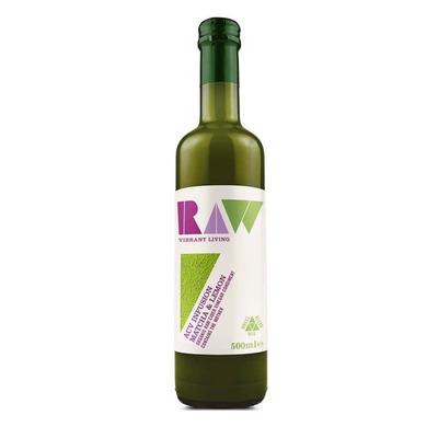 Raw Health Apple Cider Vinegar Matcha & Lemon Condiment 500ml
