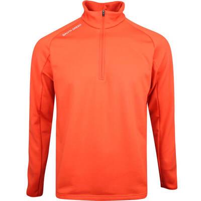 Galvin Green Golf Pullover Drake Insula Rusty Orange AW19