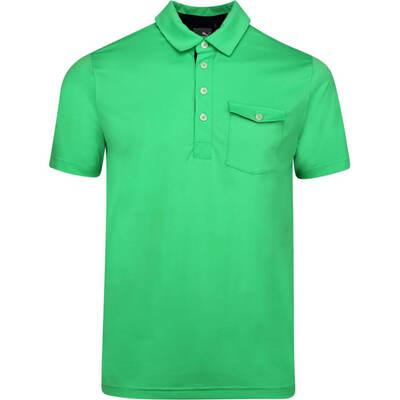 PUMA Golf Shirt Donegal Polo Irish Green LE AW19