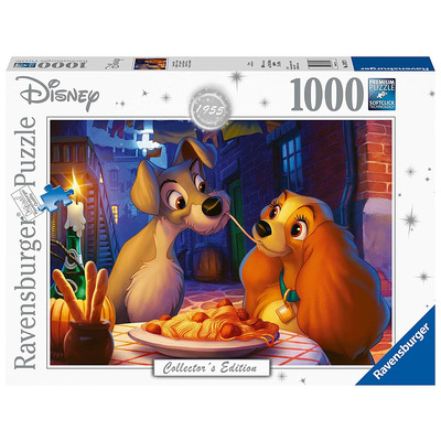 Ravensburger 13972 Disney Collectors Edition Lady & The Tramp 1000pc Jigsaw