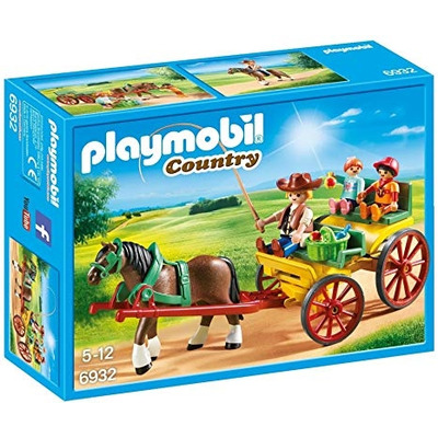 Playmobil Country Horse Drawn Wagon