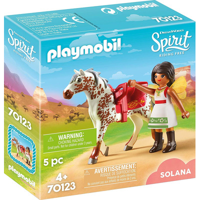 Playmobil DreamWorks Spirit Vaulting Solana