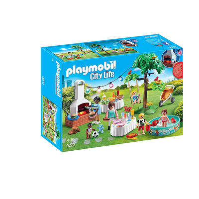Playmobil Housewarming Party With Illuminating Bunting And BBQ