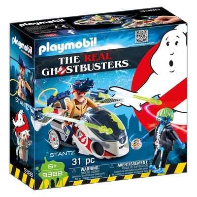 Playmobil Ghostbusters Stantz With Skybike