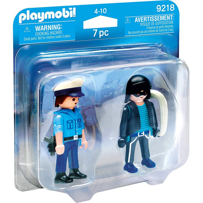 Playmobil Collectable Policeman And Burglar Duo Pack