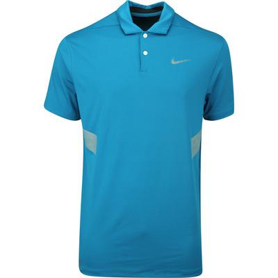 Nike Golf Shirt Vapor Reflective Green Abyss AW19
