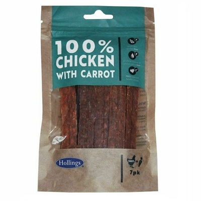 Hollings 100% Chicken Bars Dog Treat