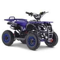 Image of FunBikes Ranger 50cc Blue Kids Petrol Mini Quad Bike