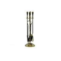 "19"" Brass Companion Set"