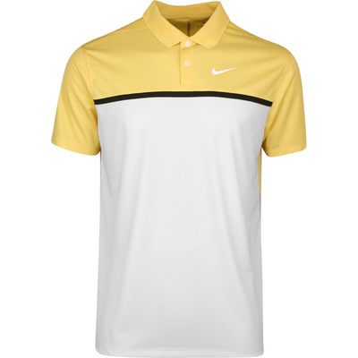 Nike Golf Shirt NK Dry Victory Colour Block Celestial Gold SS20