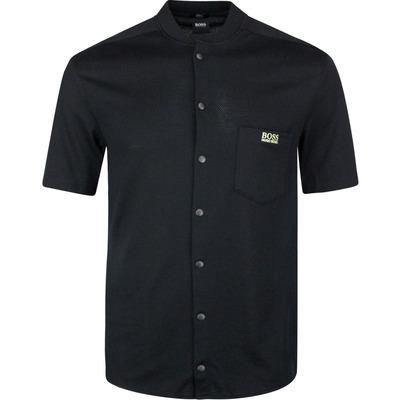 BOSS Golf Shirt Belindy S Button Up Black SP20