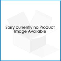 Round Blue End Table with Oak Feet - Costa Range