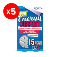 FORZA Energy Support 15 Capsules - Bundle of 5