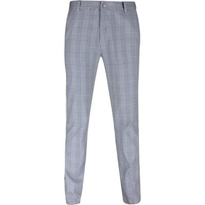 PUMA Golf Trousers Plaid Pant White Navy SS20