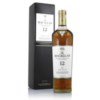 Macallan 12 Year Old Sherry Oak Cask Whisky