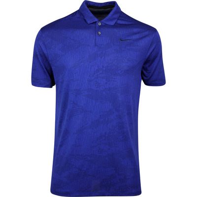 Nike Golf Shirt NK Dry Vapor Camo Jacquard Blue Void SS20