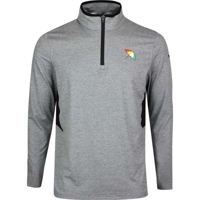 PUMA Golf Pullover Arnold Palmer Umbrella QZ Grey Htr 2020