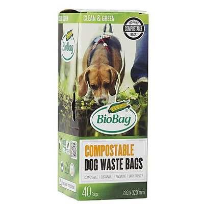 BioBag Compostable Dog Waste Bag - 40 Bags
