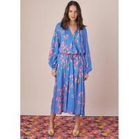 Carmen Dress - Blue Floral
