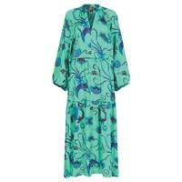Leo Maxi Dress - Emerald