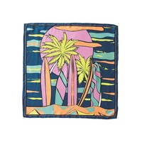 Surf Sia Silk Scarf - Blue