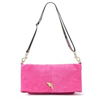 Spritz Fold Over Parrot Bag - Candy & Camo