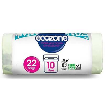 Ecozone Eco Compostable Bag 10 Litre - 22 Bags