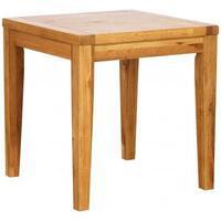 Dorchester Oak Small Square Dining Table 75 cm x 75 cm (Solid Oak)