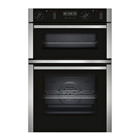 Neff N50 U2ACM7HN0B Electric Double Oven, Stainless Steel