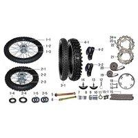 Ten10 250R Dirt Bike Brake Disc Bolt Lock Nut