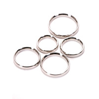 Image of 5 Piece Metal Cock Ring Set