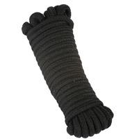 10M Cotton Bondage Rope Black