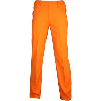 Puma 6 Pocket Golf Trousers Vibrant Orange AW15