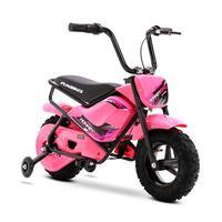 FunBikes MB 43cm Motorbike 250w Pink Electric Kids Monkey Bike