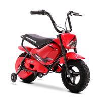 FunBikes MB 43cm Motorbike 250w Red Electric Kids Monkey Bike