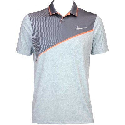 Nike Modern Fit Momentum 26 Golf Shirt Cool Grey AW15