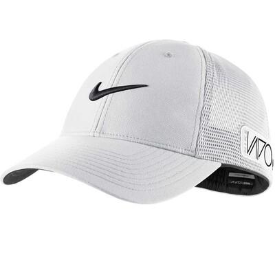Nike Tour Legacy Mesh Golf Cap White AW15