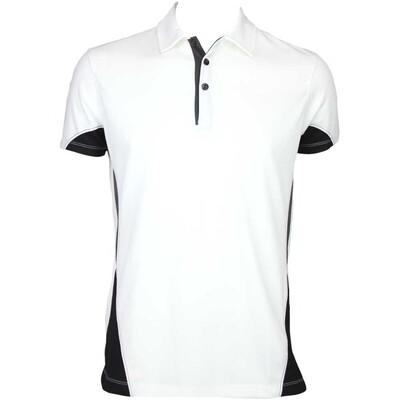 Galvin Green Maddox Ventil8 Golf Shirt White Black AW15