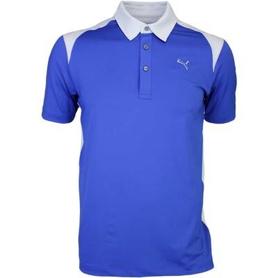 Puma Blocked Golf Shirt Sodalite Grey Dawn AW15