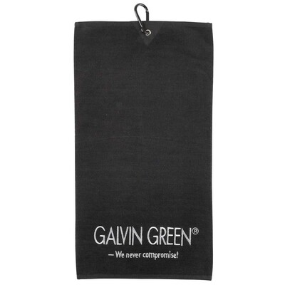 Galvin Green Golf Towel Wave Black AW15