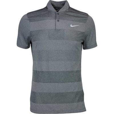 Nike Golf Shirt MM Fly BLADE Stripe Black SS16