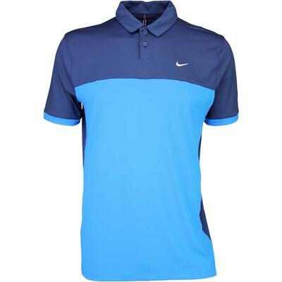Nike Golf Shirt Icon Colour Block Midnight SS16