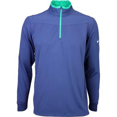 Nike Golf Pullover Dri Fit Half Zip Midnight SS16